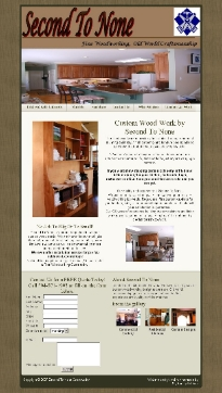second to none website design by my family kitchen